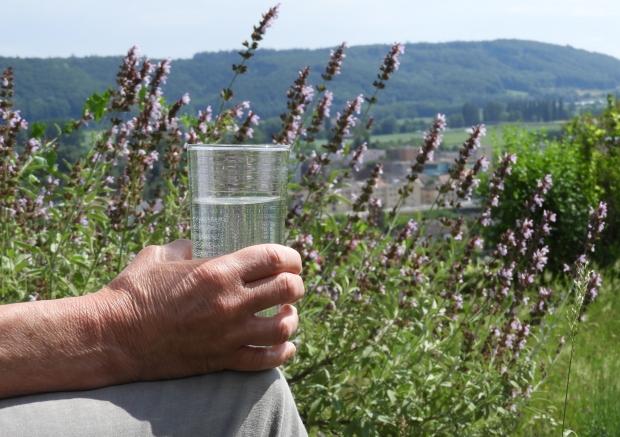 verre de sirop