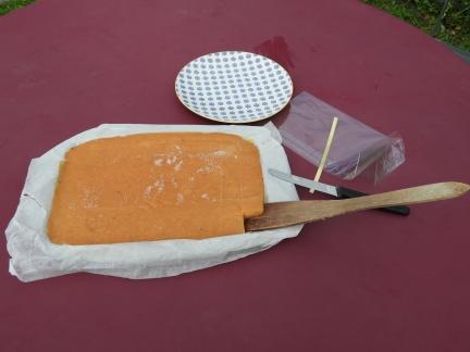 couper la pâte